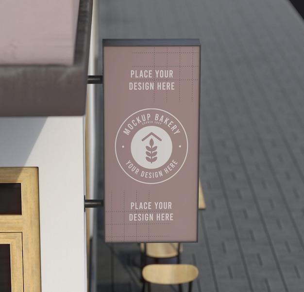 Hoekmodelsamenstelling voor winkel
