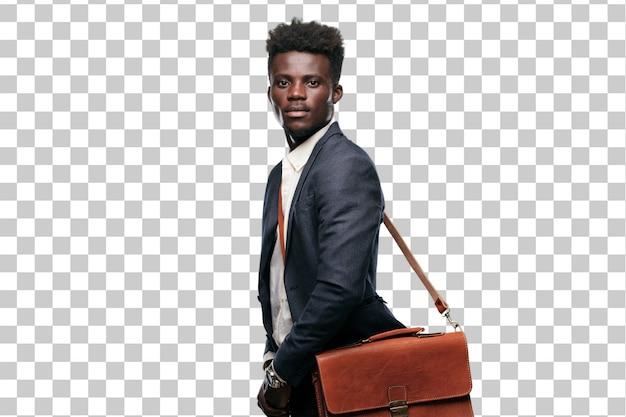 Hombre de negocios americano africano