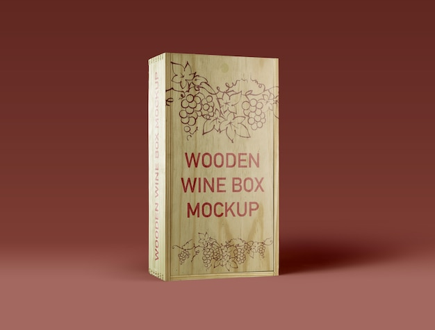 Houten-wine-box-mockup