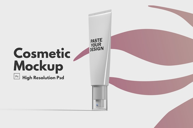 Huidverzorging hydraterende cosmetische mockup