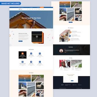 Huis renovatie webpagina