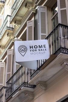 Huis te koop mockup