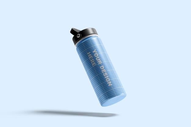 Hydro flask waterfles mockup