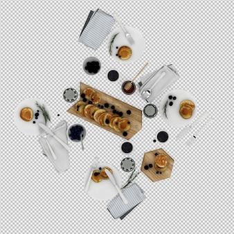 I pancake 3d rendono