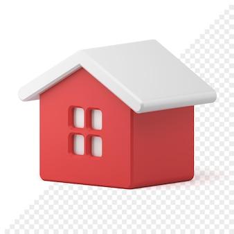 Icono 3d tiny house toy