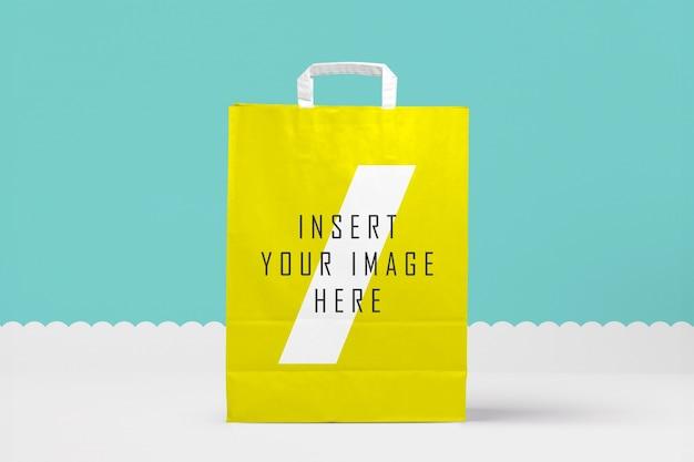 Il sacchetto di carta si imita