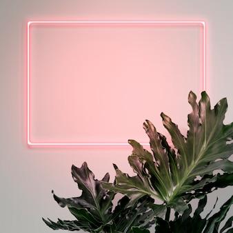 Il tuo design qui segno al neon