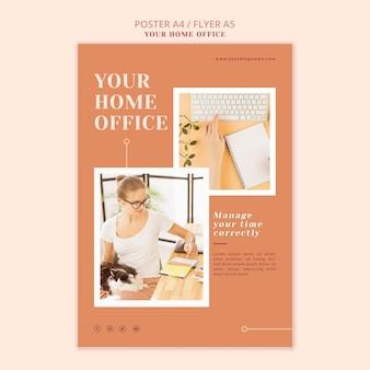 Il tuo poster da ufficio a casa