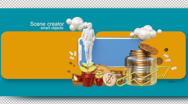 Illustraties voor het dagelijkse financiële beheer