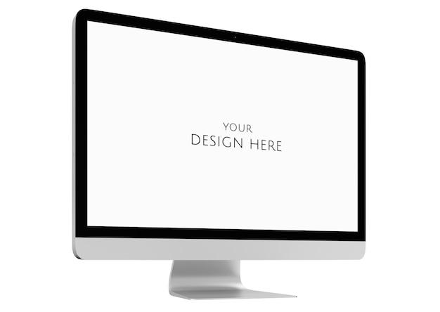 Imagen tridimensional de la computadora