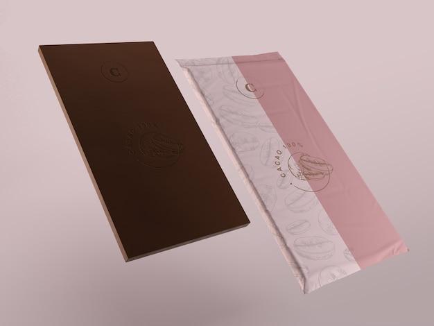 Imballaggi in plastica per tavoletta di cioccolato