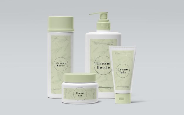 Imballaggio verde di prodotti cosmetici
