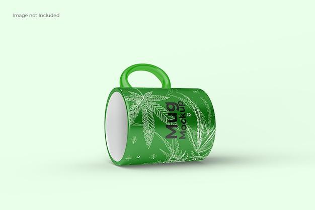 Impresionante maqueta de taza