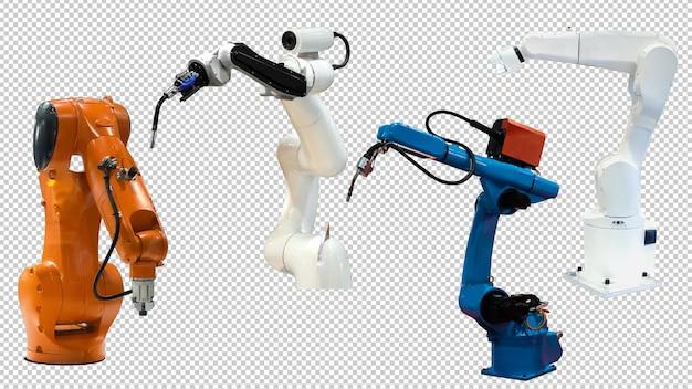 Industriële robotarmtechnologie psd