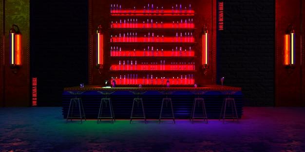 Industriële stijl bar