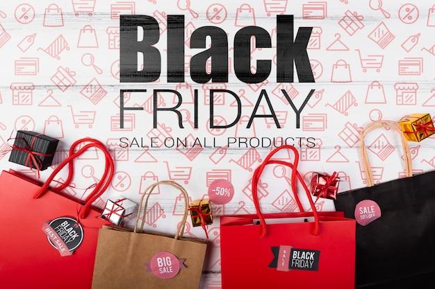 Informatie voor verkoop beschikbaar op zwarte vrijdag