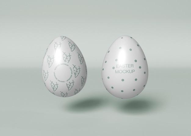 Ingericht easter eggs mockup