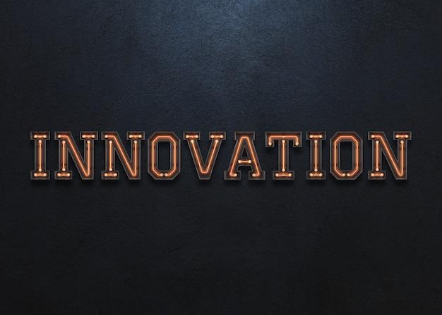 Innovation word