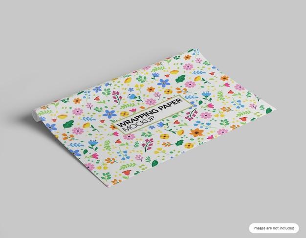 Inpakpapier mockup