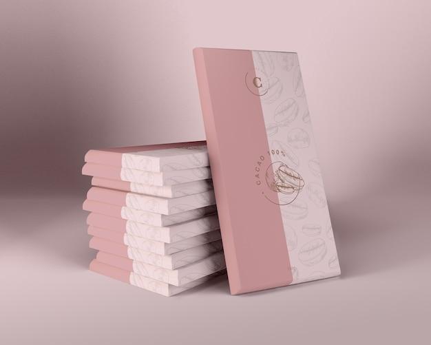 Inpakpapier voor chocoladeontwerp