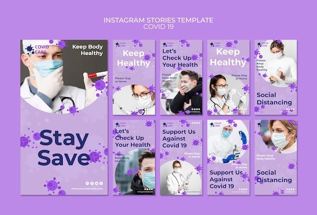 Instagram coronavirus de historias