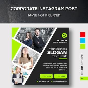 Instagram-post voor bedrijven