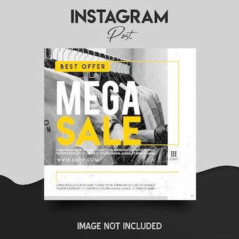 Instagram postsjabloon