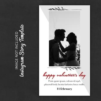 Instagram verhaalsjablonen voor valentijnsdag