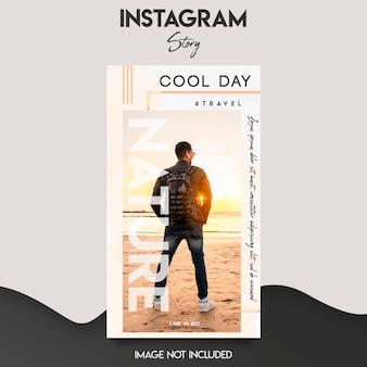 Instagram verhaalsjabloon