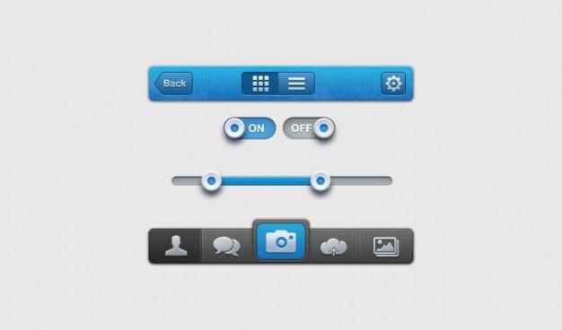 -interface iphone ui gebruikersinterface