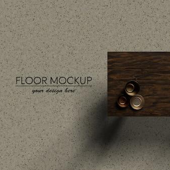 Interieur design bovenaanzicht tafel