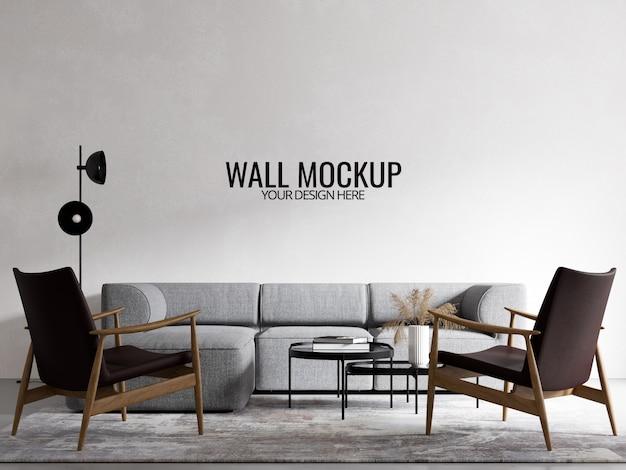 Interieur wallpaper mockup