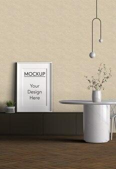 Interieurinrichting minimalistisch design
