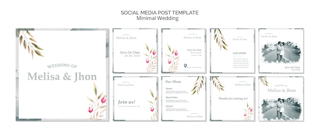 Invito a nozze sui social media