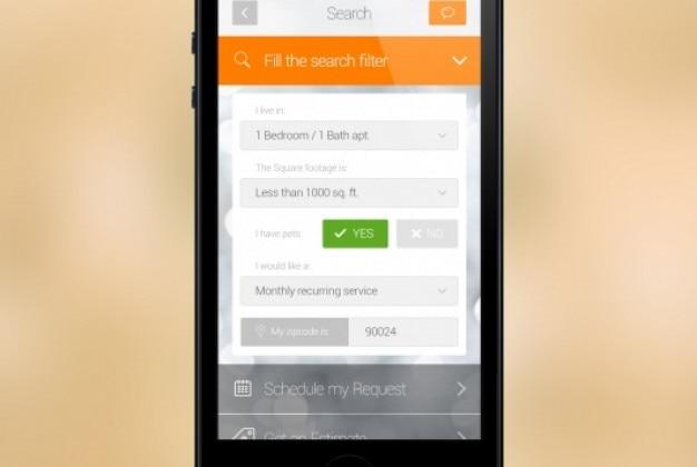 Iphone filter scherm psd