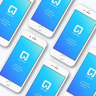 Iphone mock-up ontwerp