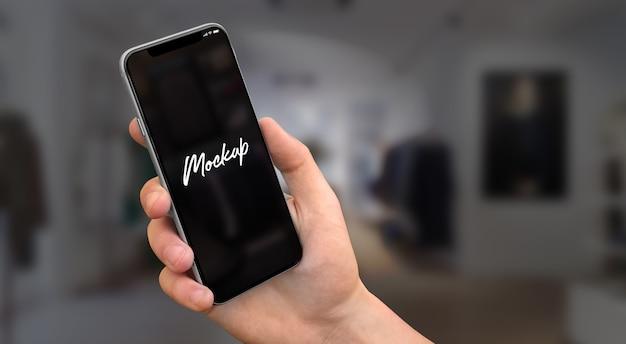Iphone x maqueta