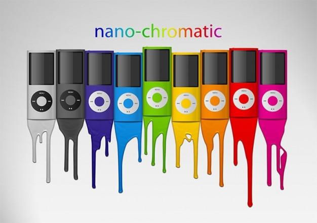 Ipod nano chromatische appel