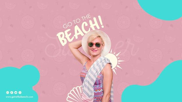 Ir a la plantilla de playa