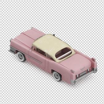 Isometrica auto d'epoca
