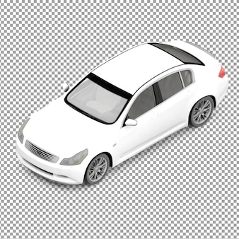 Isometrische auto