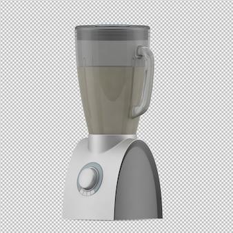 Isometrische blender 3d render