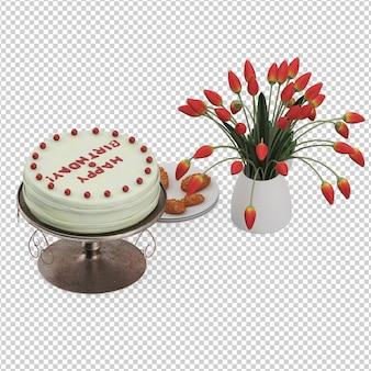 Isometrische cake