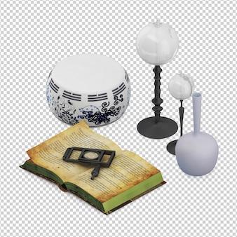 Isometrische decoratie
