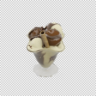 Isometrische dessert