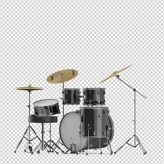 Isometrische drumkit