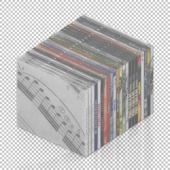 Isometrische dvd-cd