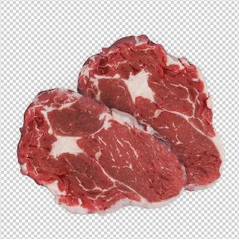 Isometrische gebrul steak