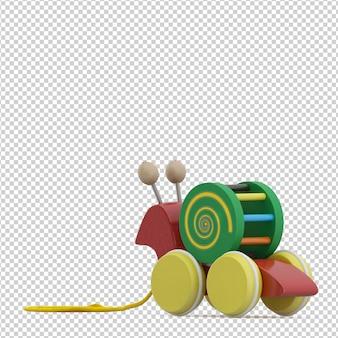 Isometrische kid speelgoed