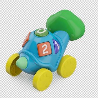 Isometrische kid toy